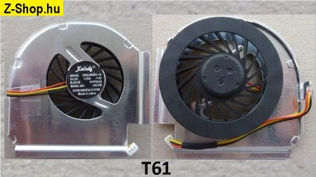 IBM Lenovo ThinkPad T61 T61P CPU Fan 42W2460 42W2461 processor cooler