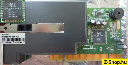 devolo MicroLink 56k PCI FaxModem kártya Conexant CX11252-11