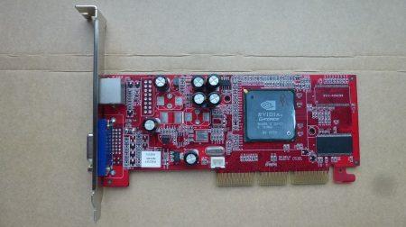 GeForce MX4000 64MB 32-bit DDR 64MB - hibás - AGP 2X-4X VGA kártya