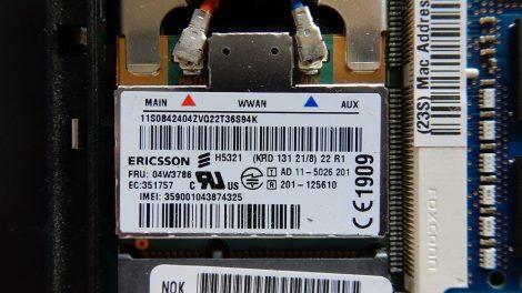 Lenovo Ericsson H5321 3G modem - FRU P/N 04W3786 ThinkPad T430