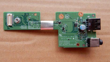Lenovo L540 USB, Audio és SD kártyaolcvasó panel 55.4LH02.011G 04X4865 0C62515 48.4LH10.011