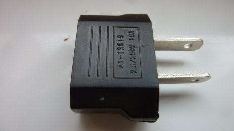 110V - 230V USA - EU adapter passzív átalakító
