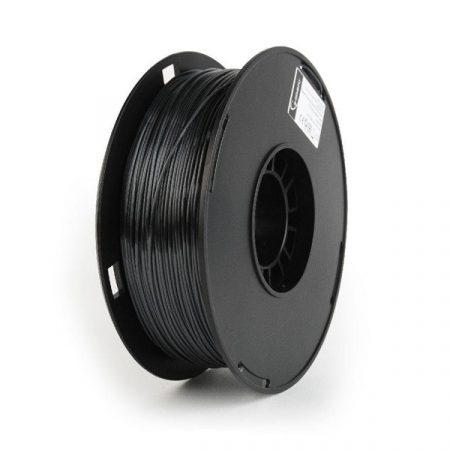 GEMBIRD FILAMENT TPE FLEXIBLE BLACK, 1,75 MM, 1 KG - TPE flexibilis nyomtató szál - fekete