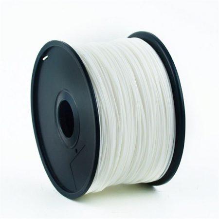 GEMBIRD FILAMENT PLA WHITE, 1,75 MM, 1 KG - PLA nyomtató szál - fehér 3DP-PLA1.75-01-W