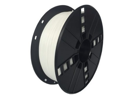 GEMBIRD FILAMENT PETG WHITE, 1,75 MM, 1 KG - PETG nyomtató szál - fehér - 3DP-PETG1.75-01-W