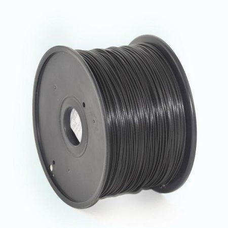 GEMBIRD FILAMENT PLA BLACK, 1,75 MM, 1 KG - PLA nyomtató szál - fekete