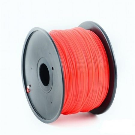 GEMBIRD FILAMENT PLA RED, 1,75 MM, 1 KG - PLA nyomtató szál - piros