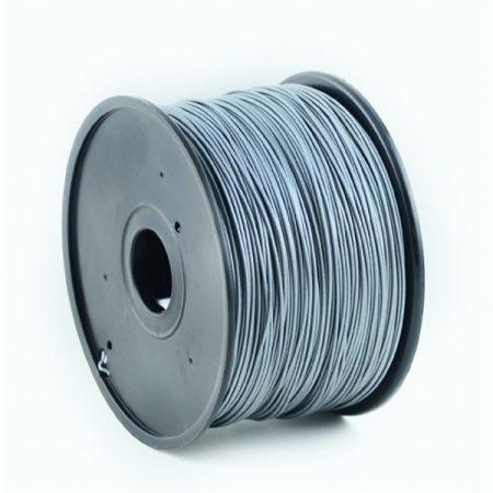 GEMBIRD FILAMENT PLA SILVER, 1,75 MM, 1 KG - PLA nyomtató szál - ezüst