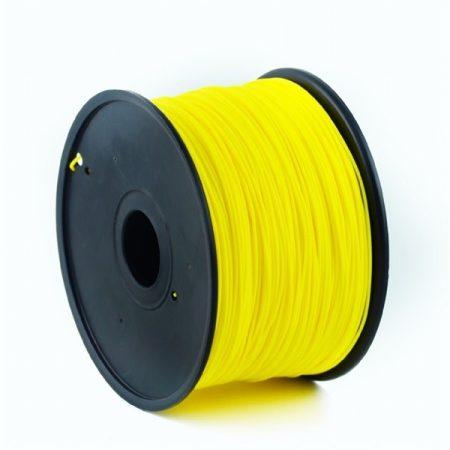 GEMBIRD FILAMENT PLA YELLOW, 1,75 MM, 1 KG - PLA nyomtató szál - sárga
