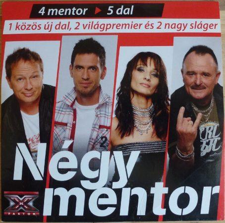 X Faktor 2010 - 4 mentor 5 dal - Audio CD - 5 track