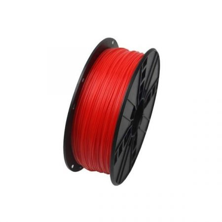 GEMBIRD FILAMENT PLA FLUORESCENT RED, 1,75 MM, 1 KG - PLA nyomtató szál - fluoreszkáló piros