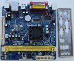 AsRock AD510PV ITX alaplap Intel Atom cpu - ventilátor kissé zajos