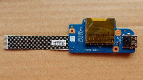 Lenovo E540 USB és CF kártya olvasó panel AILE2 NS-A162