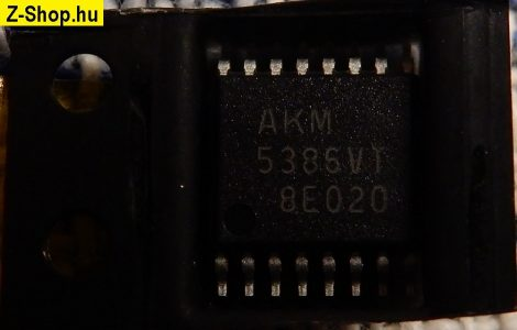 AKM5386VT DAC IC chip AK5386VT IC AUDIO 24BIT 16TSSOP 5386 AK5386