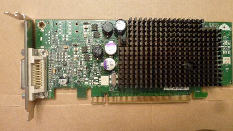 AMD Radeon X600 PRO 256MB DDR2 PCI-e VGA kártya DMS-59 csatlakozóval passzív hűtés - Low Profile - alacsony