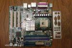 Abit IS-20 s478 alaplap i865G FSB 400,533,800 2003 - az egyik RAM slot hibás