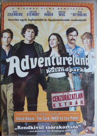 Adventureland - Kalandpark - Cenzúrázatlan extrák - DVD lemez celofánban - 2009