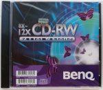BENQ 8x-12x 700MB CD-RW újraírható CD lemez törölhető