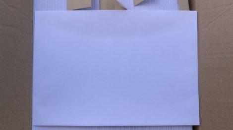Boríték LC/5 162x229mm fehér 80g enyvezet