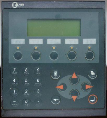 BEIJER ELECTRONICS E200, 02800F HMI OPERATOR INTERFACE 24VDC - használt - tesztelés alatt