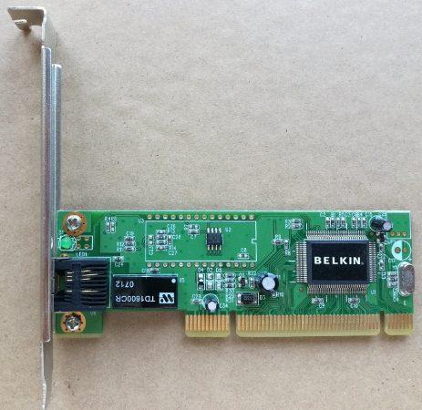 Belkin 10/100 Mbit PCI ethernet hálózati kártya - Realtek RTL8039 chip