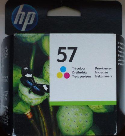 lejárt - Eredeti HP 57 színes patron (C6657AE) 2014