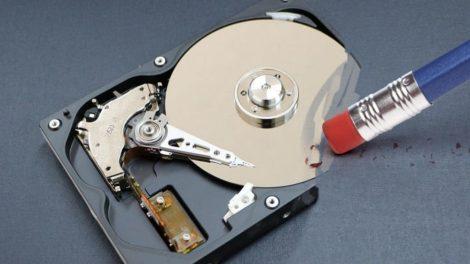 HDD, SSD, PenDrive, memória kártya visszaállíthatatlan végleges adattörlése - helyszínen is