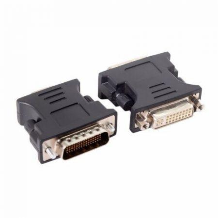 DMS-59 papa - 24+5 DVI mama átalakító adapter 3 cm