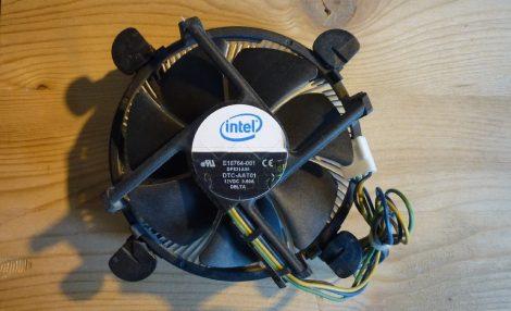 Intel E18764-001 Socket 775 processzor hűtő s775 LGA775 cooler cpu fan DP821A00 DTC-AAT01 DC12V 0.60A DELTA