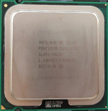 Intel Pentium Dual Core E2140 1.60GHz/1M/800 processzor SLA93 s775 cpu
