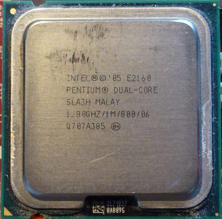 Intel Pentium Dual Core E2160 1.80GHz/1M/800/06 processzor SLA3H SLA8Z s775 cpu