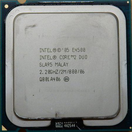 Intel Core 2 Duo E4500 2.20GHz/2M/800 processzor SLA95 s775 cpu