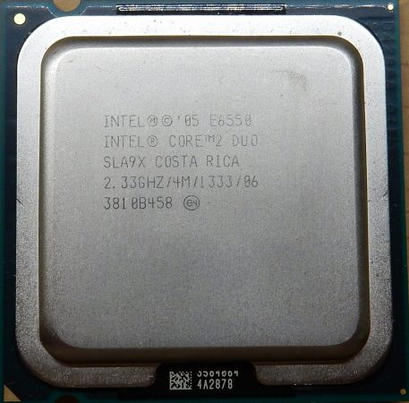 Intel Core 2 Duo E6550 2.33GHz/4M/1333 processzor SLA9X s775 cpu