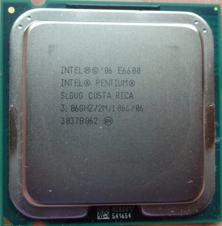 Intel Core 2 Duo E6600 3.06GHz/2M/1066/06 processzor SLGUG s775 cpu