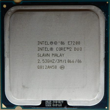 Intel Core 2 Duo E7200 2.53GHz/3M/1066 processzor SLAVN s775 cpu