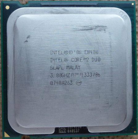 Intel Core 2 Duo E8400 3.00GHz/6M/1333 processzor SLB9J s775 cpu