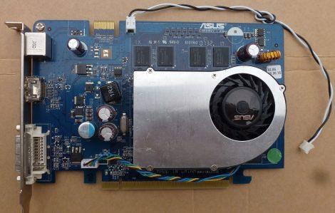 Asus EN8500GT 512MB DDR2 128bit PCI-e VGA kártya DVI, HDMI és S-Video csatlakozóval - hibás