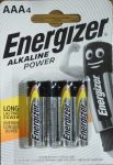 Energizer Alkaline Power alkáli vékony ceruza elem 1,5V AAA 4 db LR03