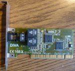 Eicon DIVA 2.01 PCI ISDN adapter kártya