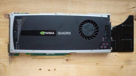 NVIDIA Quadro 4000 2GB GDDR5 256bit PCI-e VGA kártya 2010