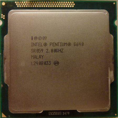 Intel® Pentium™ G640 2.80GHz Processor LGA1155 processzor SR059