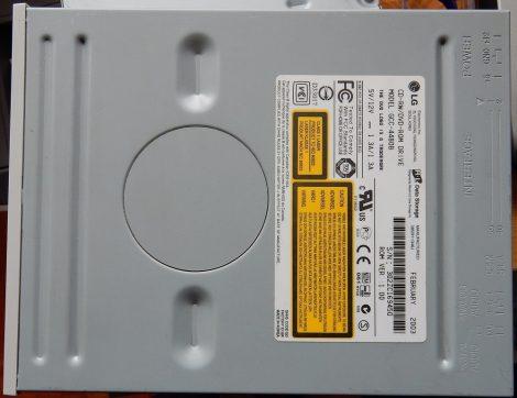 LG HL-DT-ST RW/DVD GCC-4480B 1.00 IDE CD író - DVD olvasó fehér