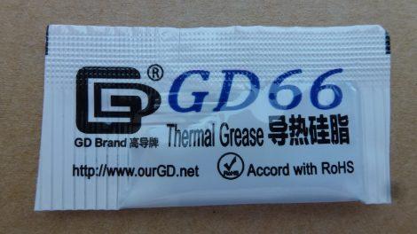 GD66 szilikon paszta - Thermal Grease