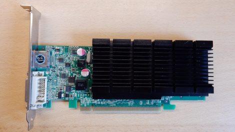 NVIDIA GeForce 405 [Leadtek] 512M PCI-e VGA kártya DVI és DisplayPort csatlakozóval passzív hűtés