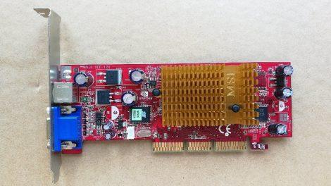 NVIDIA GeForce4 MX 4000 AGP 4x VGA kártya passzív hűtés