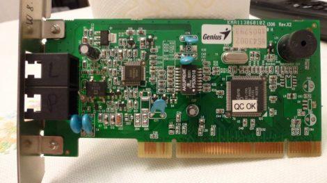Genius GM56PCI-LA 56k PCI FaxModem kártya Agere chip