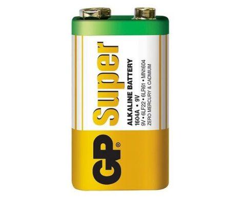 GP Super alkáli elem 9V 6LR61 1604A-S1