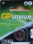 GP CR1616 DL1616 3V Lítium gombelem - GP 3V Lithium Cell CR1616-7C5