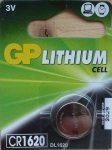 GP CR1620 DL1620 3V Lítium gombelem - GP 3V Lithium Cell CR1620CI-7C5