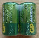 GP GREENCELL Extra Heavy Duty alkáli Baby elem 1,5V C 2 db ALKALINE R14 14G GP14G-S2 R14P